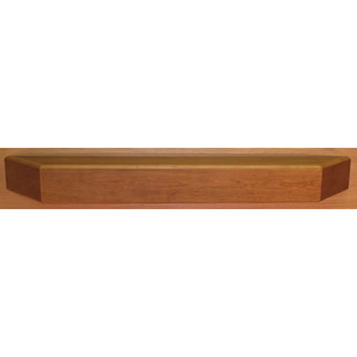 Fireplace front contemporary clear coat poplar mantel shelf at - Beneficial contemporary fireplace mantel shelves ...