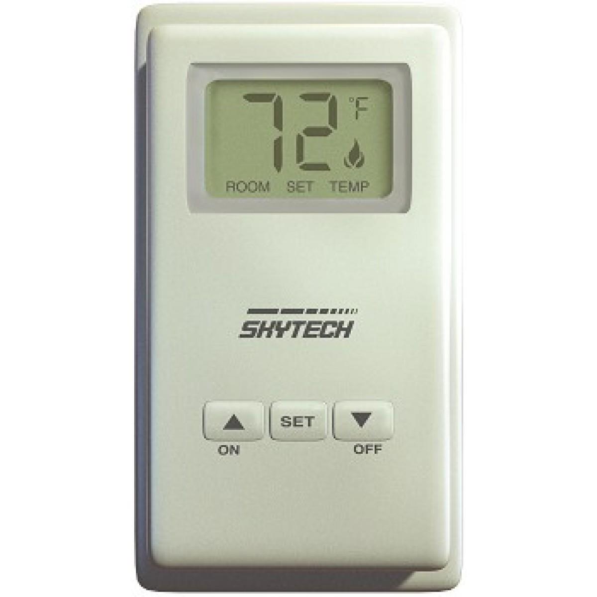 Skytech Sky Ts R 2 Wireless Wall Fireplace Remote Control