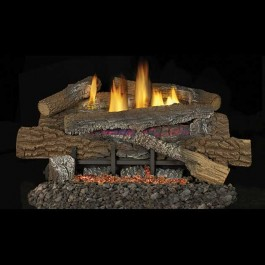 IHP Superior Boulder Mountain Concrete Vent-Free Gas Logs
