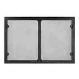 Majestic GV42BK Grand Vista Cabinet Style Mesh Door Black For 42