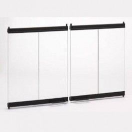 "Majestic DM1742S 42"" Bi-fold glass door kit w/SS track for 42"