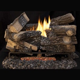 IHP Superior Massive Mixed Oak Ceramic Fiber VF Logs