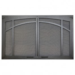 IHP Superior ASD3624-TI Arched Screen Door, Textured Iron