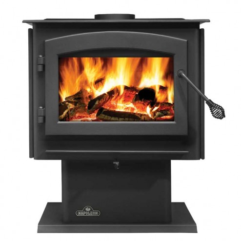 Napoleon Independence 1450M Medium Wood Burning stove /Metallic black