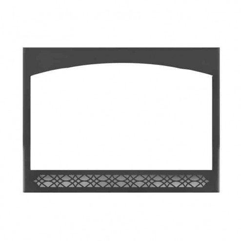 Napoleon H46F Black Heritage Decorative Front