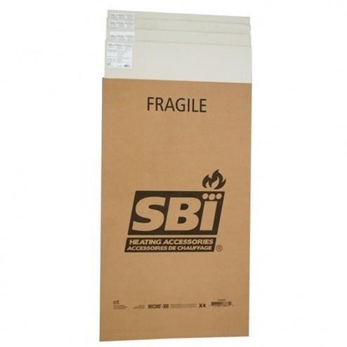 Osburn AC02565 48 in Micore 300 Mineral Fiber Board 4-PACK SET