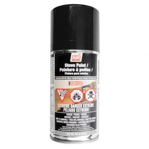 Osburn AC05963 Metallic Black Stove Aerosol Paint(3oz)
