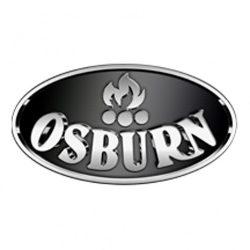 Osburn OA10017 Brushed Nickel Louvre And Trivet
