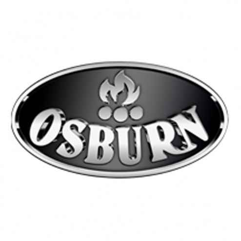 Osburn AC01384 Cast Iron Brushed Nickel Legs With Ash Pan Kit