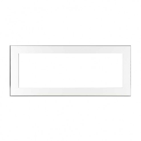 Napoleon LDS45WSB Deluxe 4-sided surround w/safety screen painted gloss white
