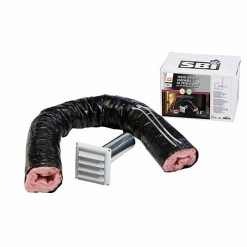 Osburn AC01239 4 in Fresh Air Intake Kit