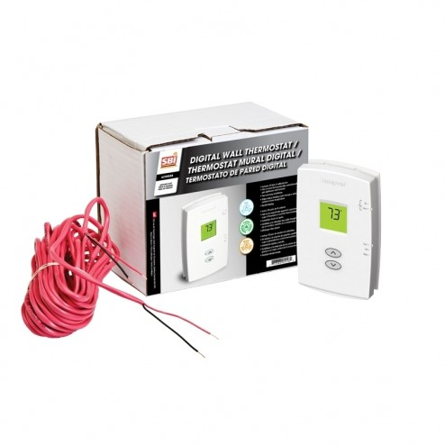 Osburn AC05558 Digital Wall Thermostat