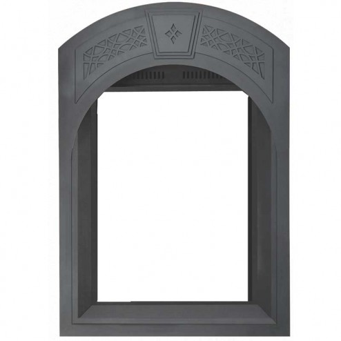 Napoleon AFK82-1SB Arched facing kit w/heritage pattern painted black