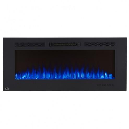 Napoleon NEFL50FH-MT Allure 50 Phantom Electric Fireplace, Mesh Screen, Matte Black