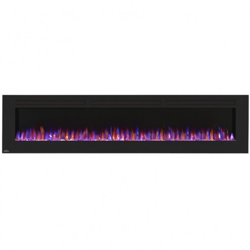 Napoleon NEFL100FH Allure 100 Electric Fireplace, Glass Front,Black