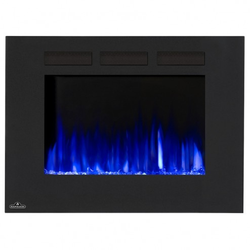 Napoleon NEFL32FH Allure 32 Electric Fireplace, Glass Front, Black