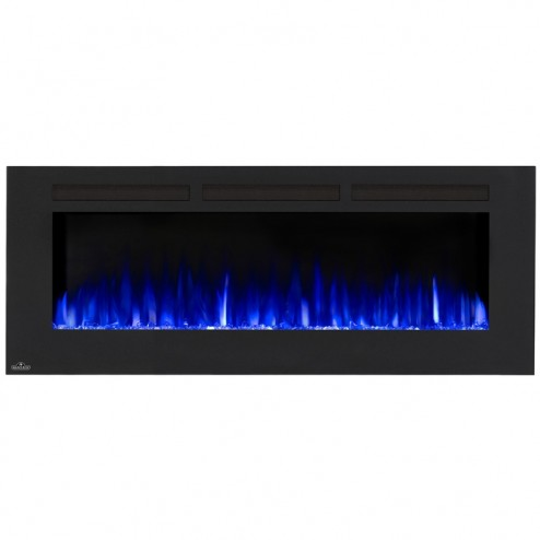 Napoleon NEFL60FH Allure 60 Electric Fireplace, Glass Front, Black