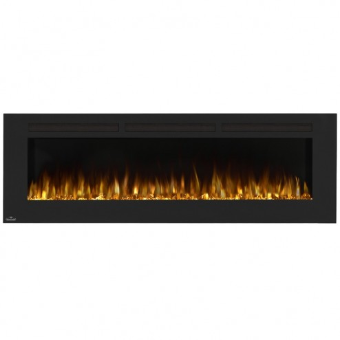 Napoleon NEFL72FH Allure 72 Electric Fireplace, Glass Front, Black
