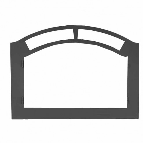 Napoleon FPK Faceplate arched painted black