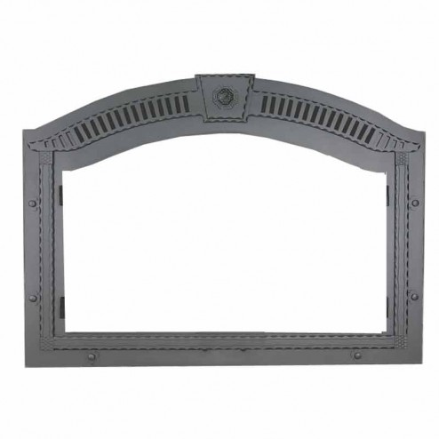 Napoleon FPWI Faceplate arched complete with upper grill & keystone wrought iron