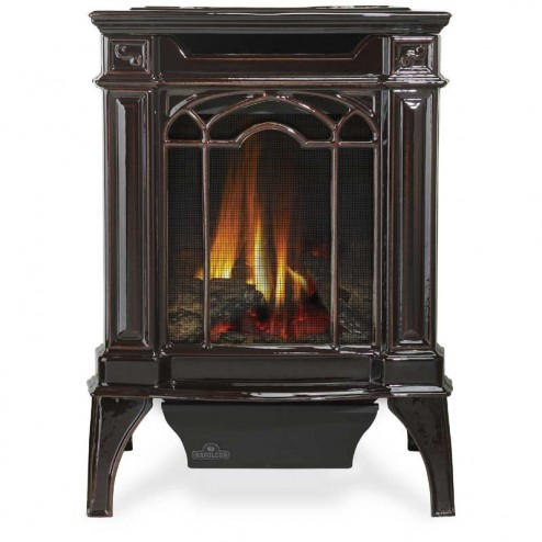 Napoleon Arlington Direct Vent Cast Iron Gas Stove w/ Safety Barrier