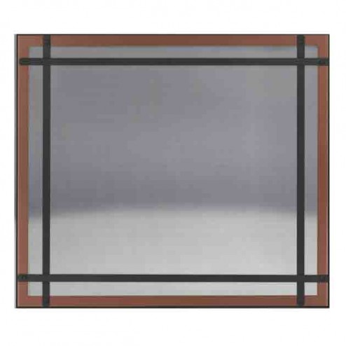 Napoleon DS40BC Brushed Copper Safety Barrier with Straight Accents