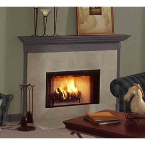 Majestic BCBV36I Builders Choice-Open Hearth B-Vent Gas Fireplace radiant IntelliFire (NG)