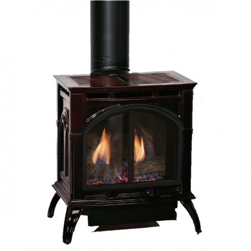 Empire Dvp30cc70mn Dv Nat Gas Medium Cast Iron Stove Ip