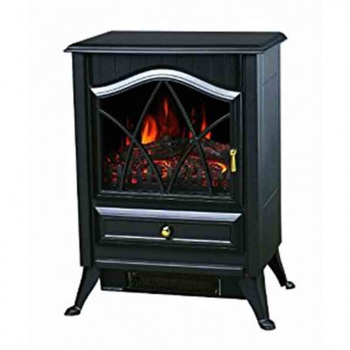 Comfort Glow ES4215  The Ashton Electric Stove-Black