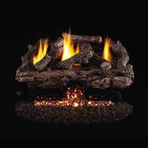 Real Fyre Charred Aged Split Oak (CHAS) Vent Free Log set