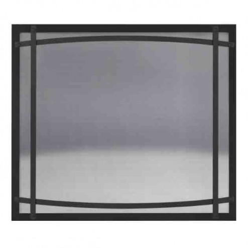 Napoleon DC46K Black Safety Barrier with Curved Accents