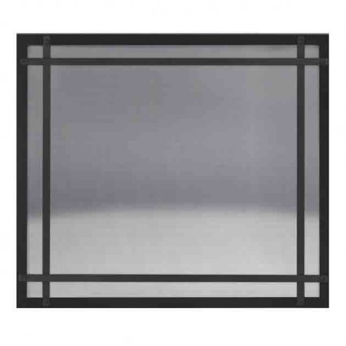 Napoleon DS46K Black Safety Barrier with Straight Accents