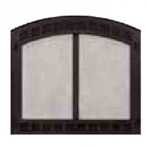 Majestic Contour60BK Contour Cabinet Style Mesh Door Black For SB60