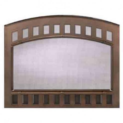 Majestic CONTOUR100BK Contour Cabinet Style Mesh Door Black For SB100