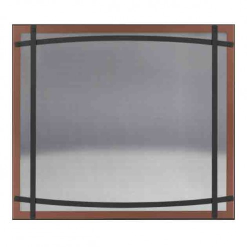 Napoleon DC40BC Brushed Copper Safety Barrier with Curved Accents