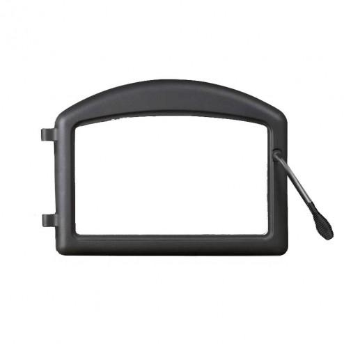 Napoleon H222M Cast iron door - standard arch metallic black