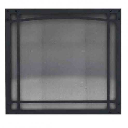 Napoleon SB52CD Decorative Black Front with Commerical Safety Barrier