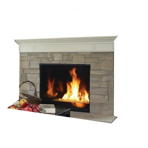 IHP Superior DRC6300 Direct Vent Louverless Gas Fireplace