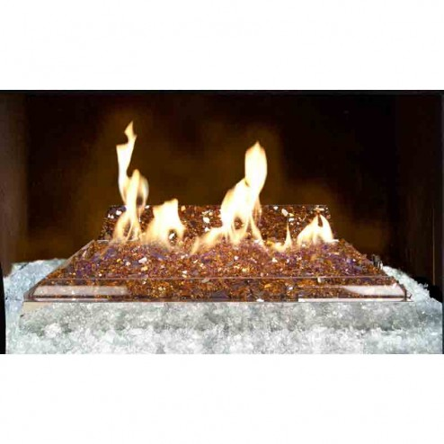 Real Fyre G21 Contemporary Vent Free Glass Burner System
