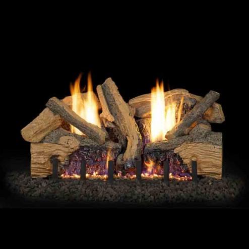 Real Fyre Foothill Split Oak (FTSO) Vent Free Log set