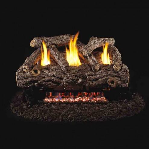 Real Fyre Golden Oak Designer(RD9) Vent Free Log set
