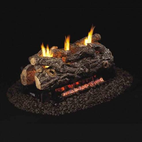 Real Fyre Golden Oak Designer(RD9) Vent Free See-Thru Log set