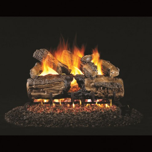 Real Fyre Burnt Split Oak(HCHS) Log set