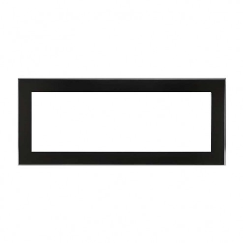 Napoleon LDS45KSB Deluxe 4-sided surround w/safety screen painted gloss black