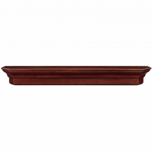 Pearl Mantels The Lindon Shelf Cherry Distressed Finish 490-60-70