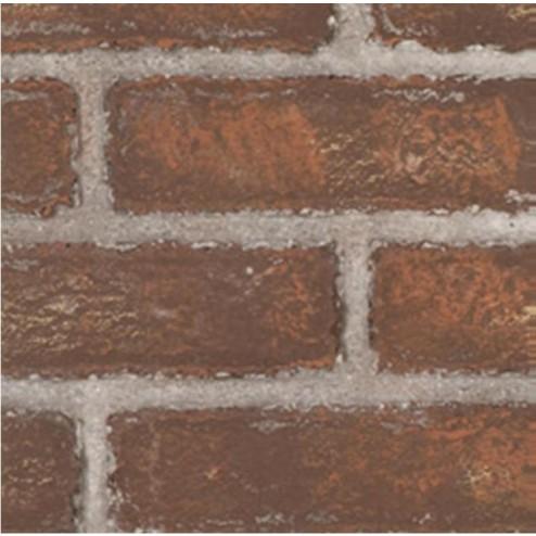 Majestic FB300CRW Cottage Red Ceramic Fiber Firebrick Wall 300DVB/300DVBH