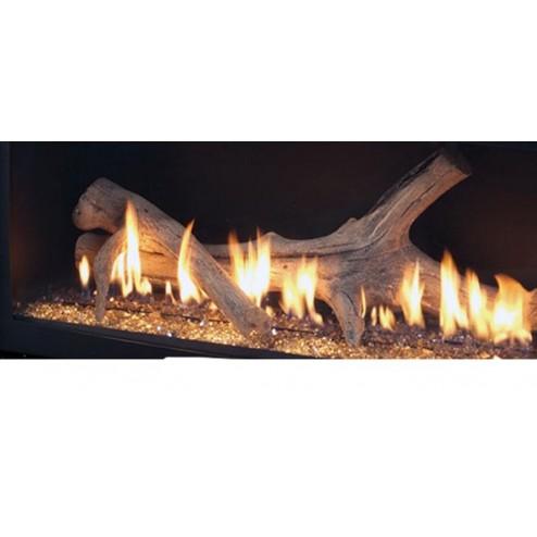 Majestic ADW600 Aged Driftwood Log Set for WDV600