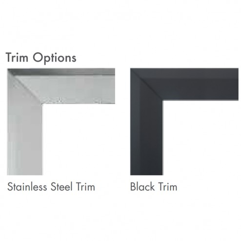 Majestic BLTKM36C Black Trim Kit Curved Design fits 500DVM/MCUF36D/LCUF36C