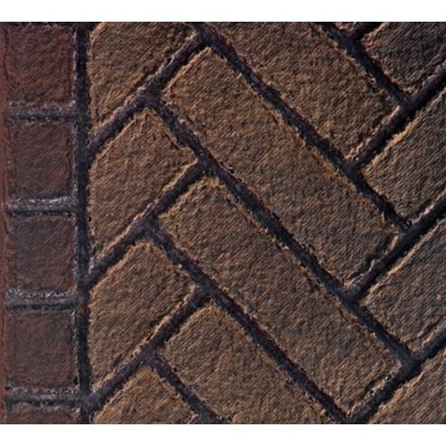 Majestic FBMLDV500OE Olde English Herringbone Firebrick Walls for MLDV500
