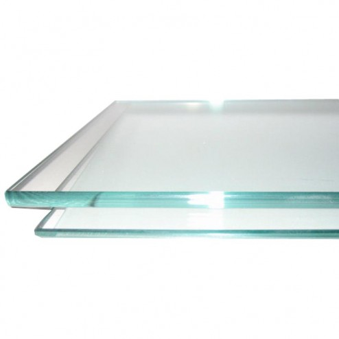 Malm 7 x 15 x 13/16 Carousel Tempered Side Glass Panel